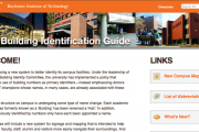 RIT Building Identity Mini-Site