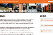RIT Building Identity Mini-Site